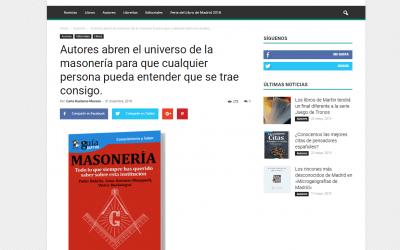 Casa de Letras se hace eco del GuíaBurros: Masonería