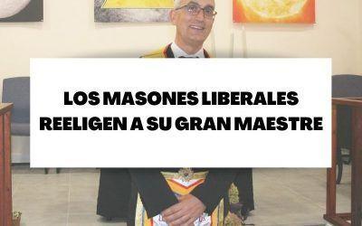 Los masones liberales reeligen a su Gran Maestre